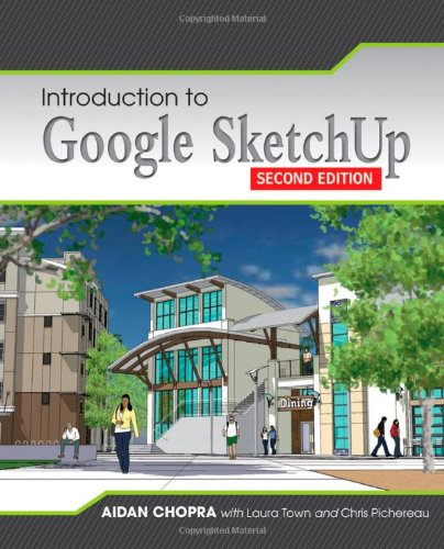 Introduction to Google SketchUp  2nd 2013 edition cover