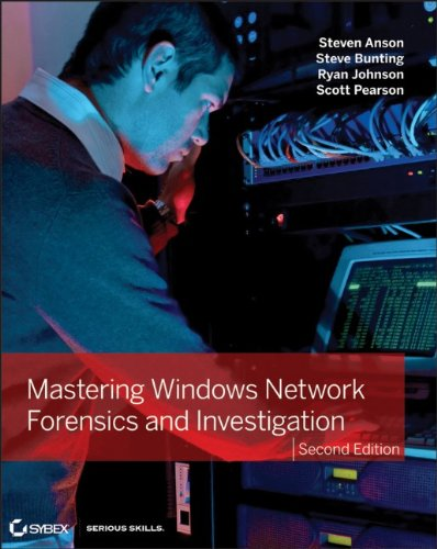 Mastering Windows Network Forensics and Investigation  2nd 2012 edition cover