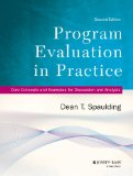 Program Evaluation in Practice Core Concepts and Examples for Discussion and Analysis 2nd 2014 9781118345825 Front Cover