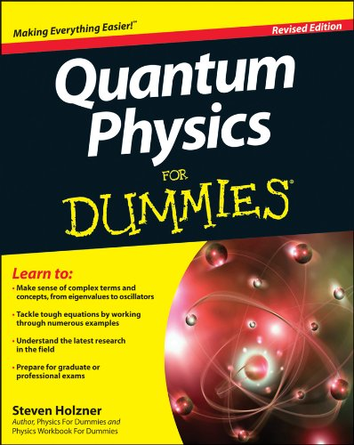 Quantum Physics for Dummies�  2nd 2012 (Revised) edition cover