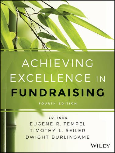 Achieving Excellence in Fundraising  4th 2016 9781118853825 Front Cover