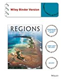 Geography Realms, Regions, and Concepts 16E Binder Ready Version with WileyPlus Card 16th 2014 9781118866825 Front Cover