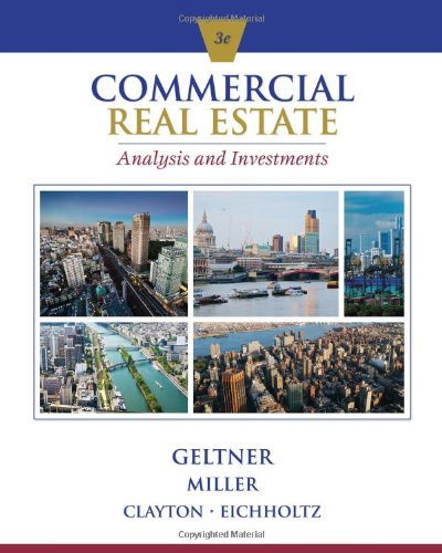 Commercial Real Estate Analysis and Investments (with CD-ROM)  3rd edition cover