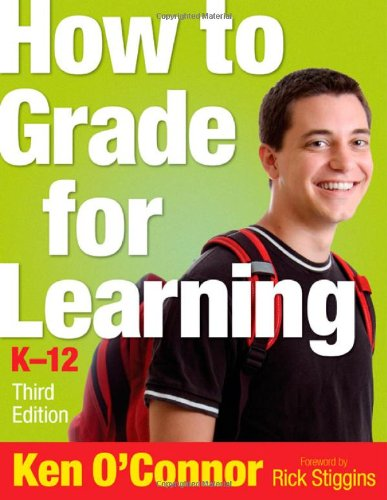 How to Grade for Learning, K-12  3rd 2009 edition cover
