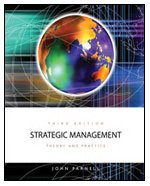 Strategic Management: Theory and Practice  3rd 2009 9781426628825 Front Cover