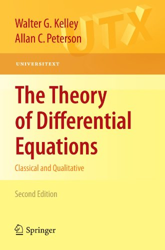 Theory of Differential Equations  2nd 2010 edition cover