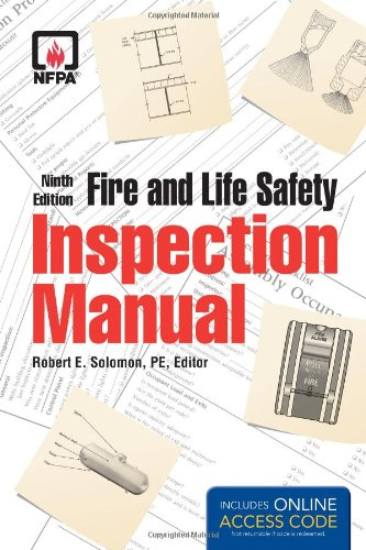 Fire and Life Safety Inspection Manual  9th 2013 edition cover