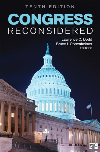 Congress Reconsidered  10th 2013 (Revised) edition cover