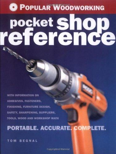 Popular Woodworking Pocket Shop Reference   2006 9781558707825 Front Cover