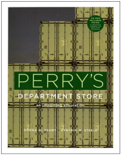 Perry's Department Store An Importing Simulation  2006 edition cover