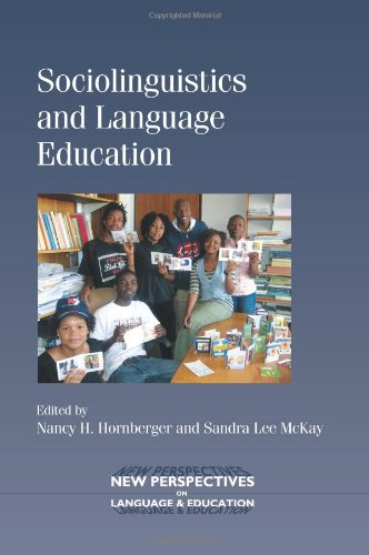 Sociolinguistics and Language Education   2010 edition cover