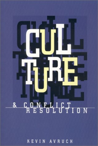 Culture and Conflict Resolution   1998 edition cover