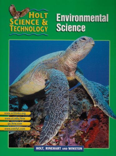 Holt Science and Technology 2002 Pt. E : Environmental 2nd 9780030647826 Front Cover