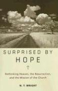 Surprised by Hope Rethinking Heaven, the Resurrection, and the Mission of the Church  2008 edition cover