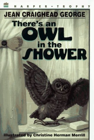 There's an Owl in the Shower   1997 9780064406826 Front Cover
