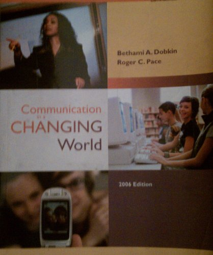 Communication in a Changing World 2nd 2006 edition cover