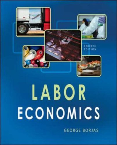 Labor Economics  4th 2008 (Revised) 9780073402826 Front Cover