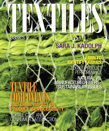 Textiles Basics  2013 (Revised) edition cover