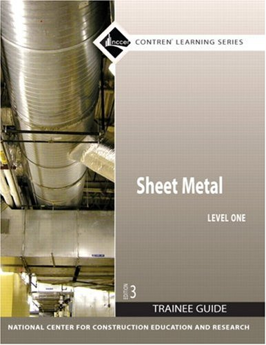 Sheet Metal Level 1 Trainee Guide, Paperback  3rd 2008 edition cover