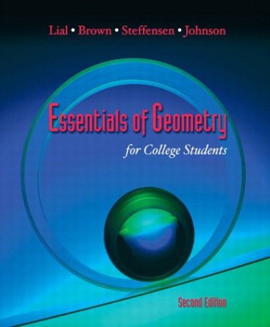 Essentials of Geometry for College Students  2nd 2004 (Revised) edition cover