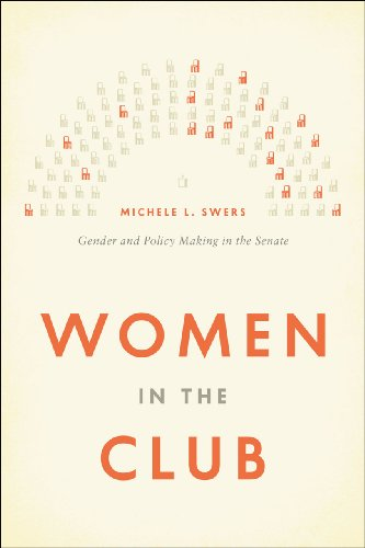 Women in the Club Gender and Policy Making in the Senate  2013 edition cover