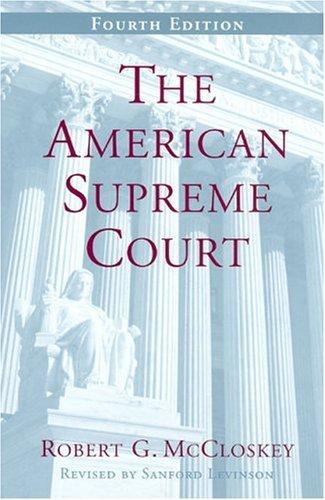 American Supreme Court  4th 2005 edition cover