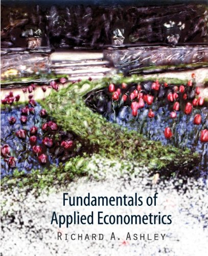 Fundamentals of Applied Econometrics   2012 edition cover