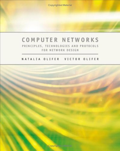 Computer Networks Principles, Technologies and Protocols for Network Design  2005 edition cover