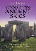 Echoes of the Ancient Skies The Astronomy of Lost Civilizations  2003 edition cover