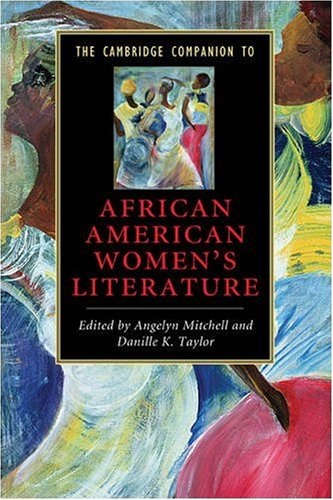 Cambridge Companion to African American Women's Literature   2009 edition cover