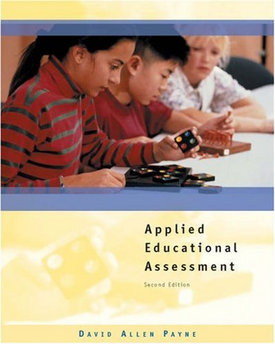 Applied Educational Assessment 2nd 2003 (Revised) edition cover
