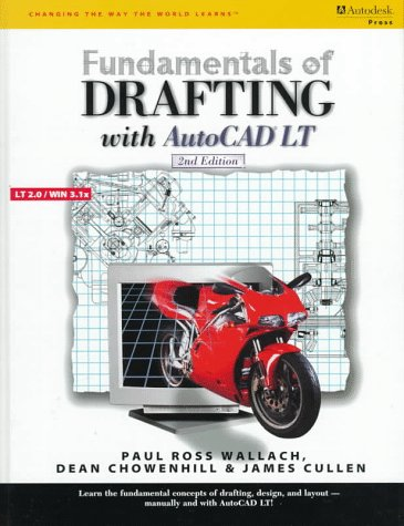 Fundamentals of Drafting Using AutoCAD LT  2nd 1998 (Revised) 9780538659826 Front Cover