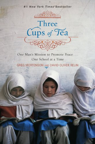Three Cups of Tea   2006 9780670034826 Front Cover