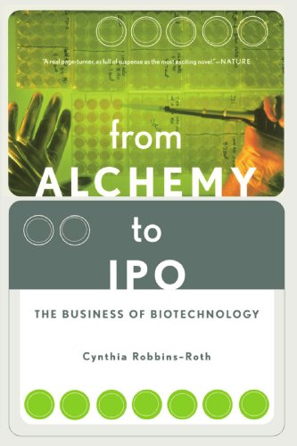 From Alchemy to Ipo The Business of Biotechnology  2001 edition cover