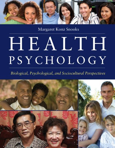 Health Psychology Biological, Psychological, and Sociocultural Perspectives  2009 edition cover