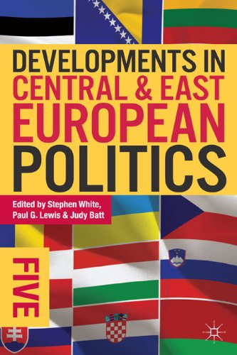 Developments in Central and East European Politics 5  5th 2013 edition cover