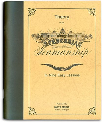 Theory of Spencerian Penmanship  N/A 9780880620826 Front Cover