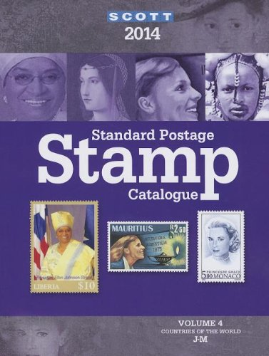 Scott 2014 Standard Postage Stamp Catalogue: Countries of the World J-m  2013 edition cover