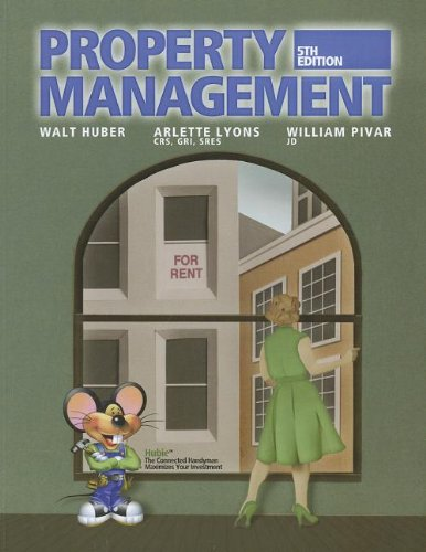Property Management N/A edition cover