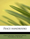 Peace Handbooks  N/A 9781113864826 Front Cover