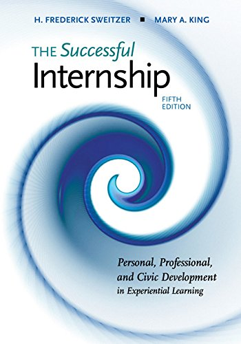 The Successful Internship:   2018 9781305966826 Front Cover