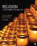Religion in Sociological Perspective  6th 2016 edition cover