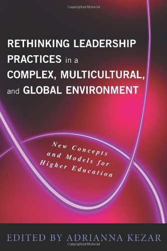 Rethinking Leadership in a Complex, Multicultural, and Global Environment New Concepts and Models for Higher Education  2009 edition cover