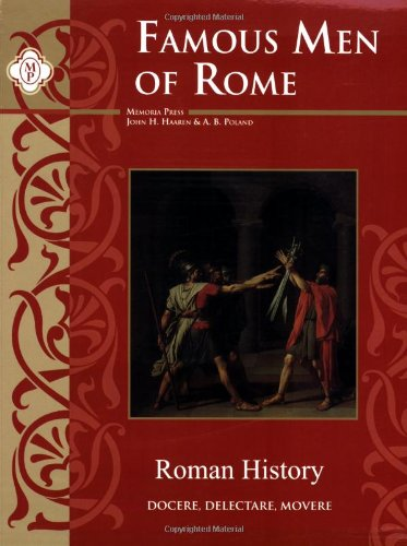 Famous Men of Rome   2005 9781930953826 Front Cover