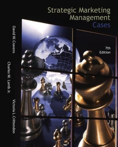 Strategic Marketing Management Cases with Excel Spreadsheets  7th 2002 (Revised) edition cover