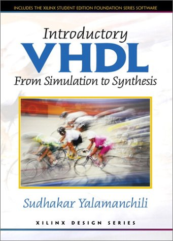 Introductory VHDL From Simulation to Synthesis  2001 edition cover