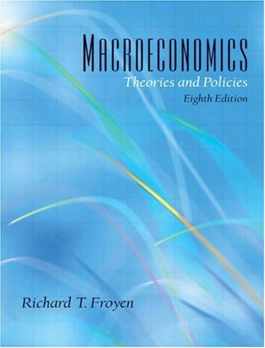 Macroeconomics Theories and Policies 8th 2005 edition cover