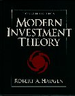 Modern Investment Theory  4th 1997 edition cover