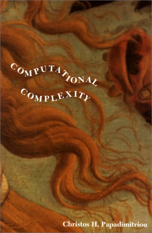 Computational Complexity   1994 edition cover
