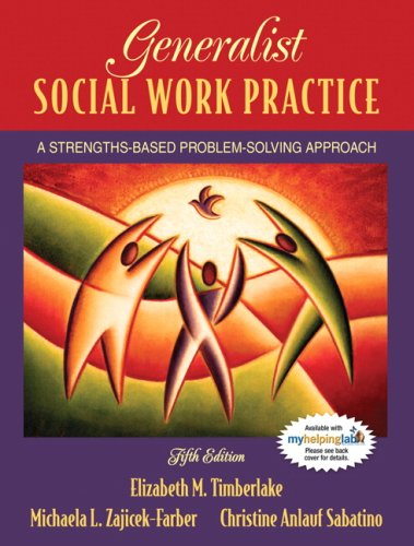 Generalist Social Work Practice A Strengths-Based Problem Solving Approach 5th 2008 edition cover